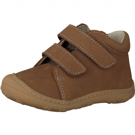 Ricosta CARLY Leather Velcro Shoes (Curry)